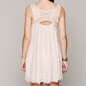 Free People One Foiled Annabella Dress